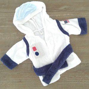 EUC Newborn Baby Astronaut Robe 0-9 months